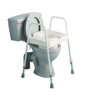 Raised Frame   Toilet Seat Aid