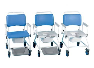 Atlantic Commode and Shower Chair: 3-in-1