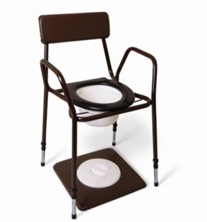 Adjustable Height Commode