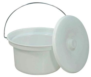 Commode Pan and Lid