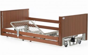 Ultra Low 4 Section Profiling Bed, Walnut
