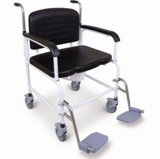AX399 Extra Wide Shower Commode Chair