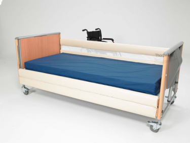 2 Bar 20 cm Extended Bed Rail Bumpers