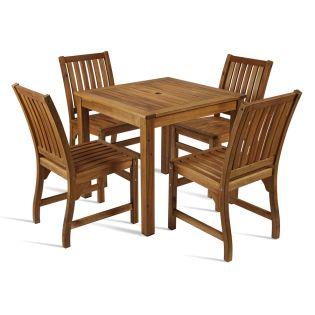 Hardwood Outdoor Wooden Dining Set