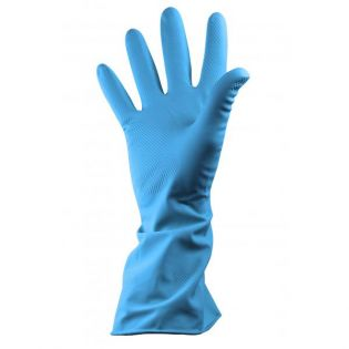 Rubber Glove Extra-Large Blue