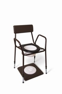 Height Adjustable Stacking Commode