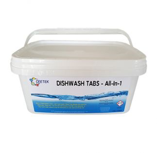 All-In-1 Dishwasher Sachet - Quick Acting