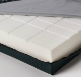 Castellated Foam Mattress Cover