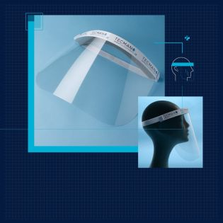 Clear Plastic Face Shield from £3.49