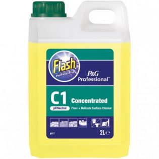 Flash Professional C1 Concentrated Floor and Surface Cleaner 2L
