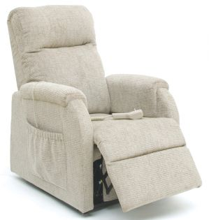 The Petite Rise And Recline Chair - Almond