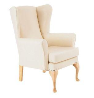 Richmond Hi-Back Chair, Cream