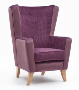 Artbourne High Back Chair
