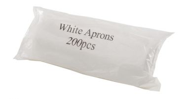 White Aprons-On-A-Roll