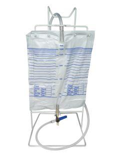 Freestanding Catheter Bag Holder