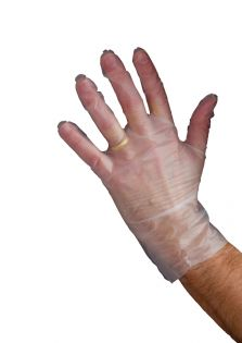 Poly Synthetic Gloves Large