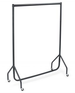 Single Hanging 4ft Width Heavy Duty Clothes Rail