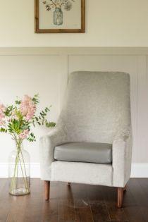 Verona Silver Back Chair