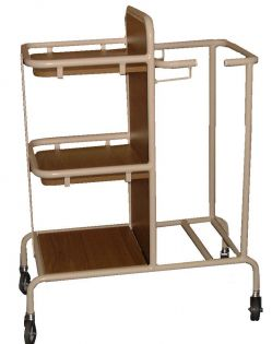 Clean/Soiled Linen Trolley