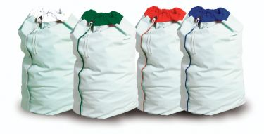 Waterproof Laundry Bag White