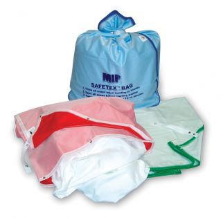 Safetex Self Opening Laundry Bag Red