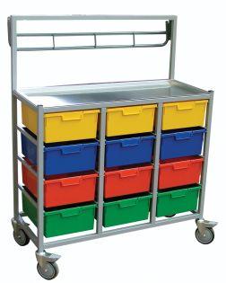 Combi 3 Tier, 12 Trays Karri-Cart