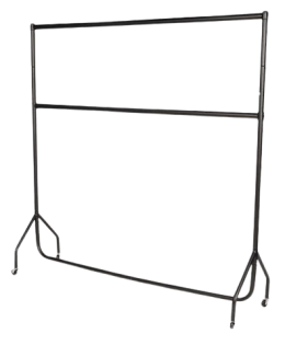 Double Hanging 6ft Width Heavy Duty Clothes Rail
