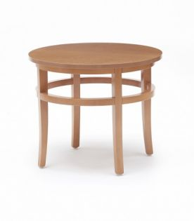 Premium Low Coffee Table Std Top, Circular
