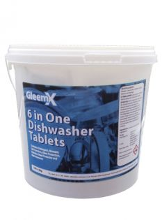 GleemX Dishwashing Tablets: Qty 100 x 20G