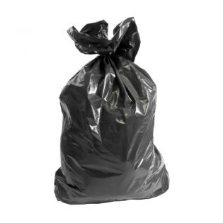 Heavy Duty  Black Sacks