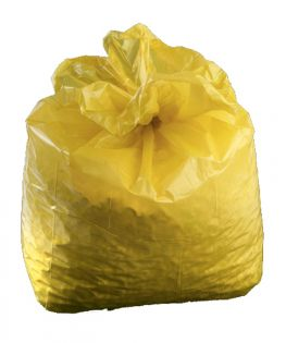 Clinical Waste Sacks - Yellow