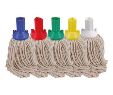 Pure Yarn Socket Mop Head-Yellow (Push Fit)