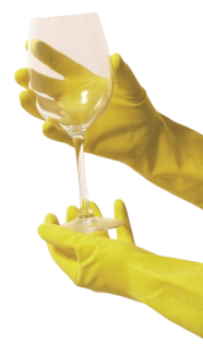 Rubber Glove Extra-Large Yellow