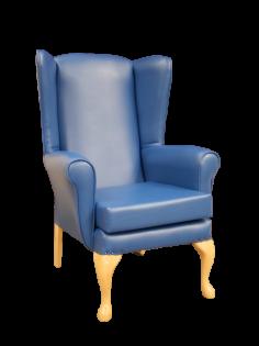 Richmond Hi-Back Chair Royal Blue