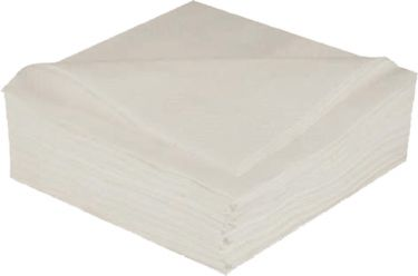 2Ply White Napkins 33Cm
