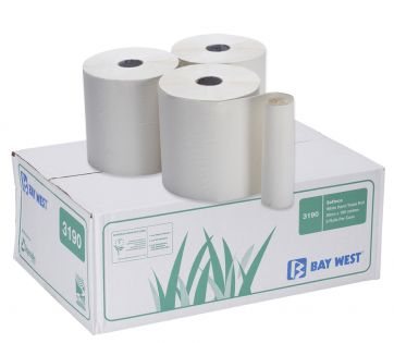Bay West Ecosoft White Handtowel Roll 20Cmx19