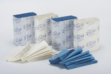 Bay West Micro-Folded Towel - Blue