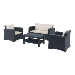 Marches Sofa, Armchairs & Table Dining Set