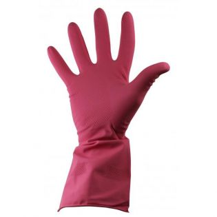 Rubber Glove Extra-Large Red