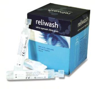 Sterile Eyewash 20Ml Pods