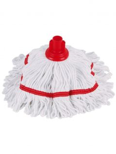 Professional Hygiemix Mop Head-Red (Screw On)