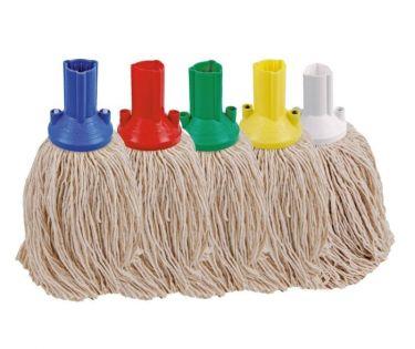 Twine Socket Mop Head Yellow (Push Fit)