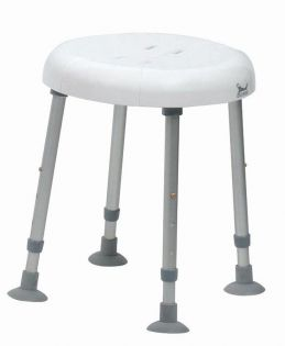 Delphi Shower Stool with Recess